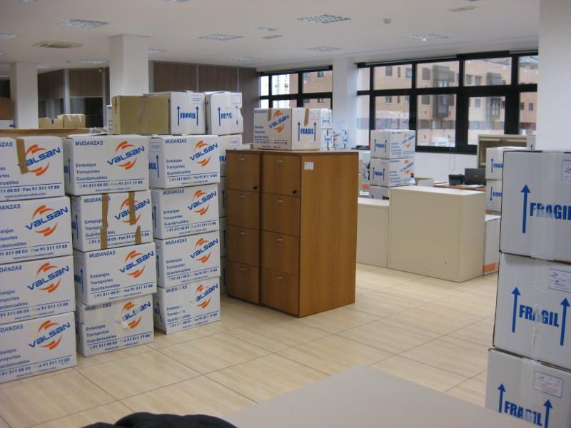 Presupuesto mudanzas oficinas