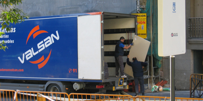 Traslado de oficinas en Madrid